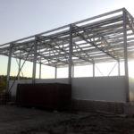 Строительство холодильного склада с продуваемым фундаментом