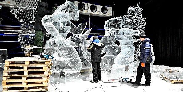 Выставки ледяных скульптур. Санкт-Петербург