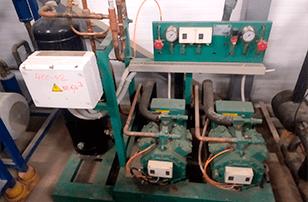 двухкомпрессорный агрегат