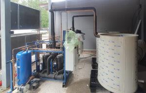чиллер для охлаждения молока установка компонентов